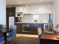1 Bedroom Apartment Kitchen and Dining - Mantra Wollongong