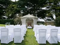 Garden Wedding Setup - Mantra Lorne