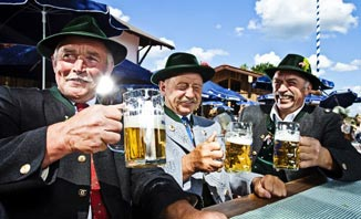 Enjoy traditional Bavarian customs at the Brisbane Oktoberfest.