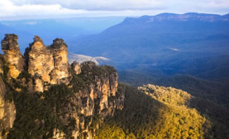 Get breathtaking views of Three Sisters from the Blue Mountains when you visit Parramatta.