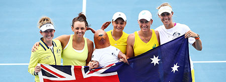 Brisbane hosts semifinal showdown for Fed Cup