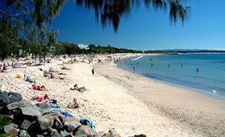Noosa (pictured above) is one of the many beautiful beaches on South East Queensland's Sunshine Coast.