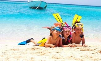 Keep your kids happy on holiday with these fun ideas.