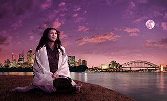See Puccini's Madama Butterfly on the Sydney Harbour.