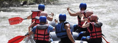 Take on Tully River's wildest rapids