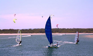 Sail or windsurf your way around Geraldton this summer.