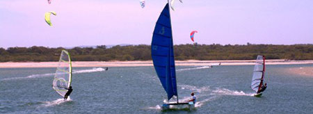 Sail or windsurf your way around Geraldton this summer