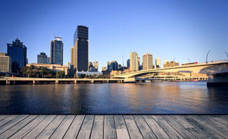 Explore Brisbane by bicycle or take public transport to get around the city.