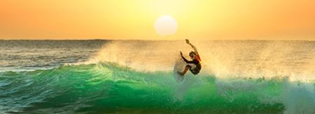 The Rip Curl Pro is a surfer's dream event