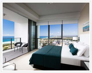 3 bedroom apartments Broadbeach