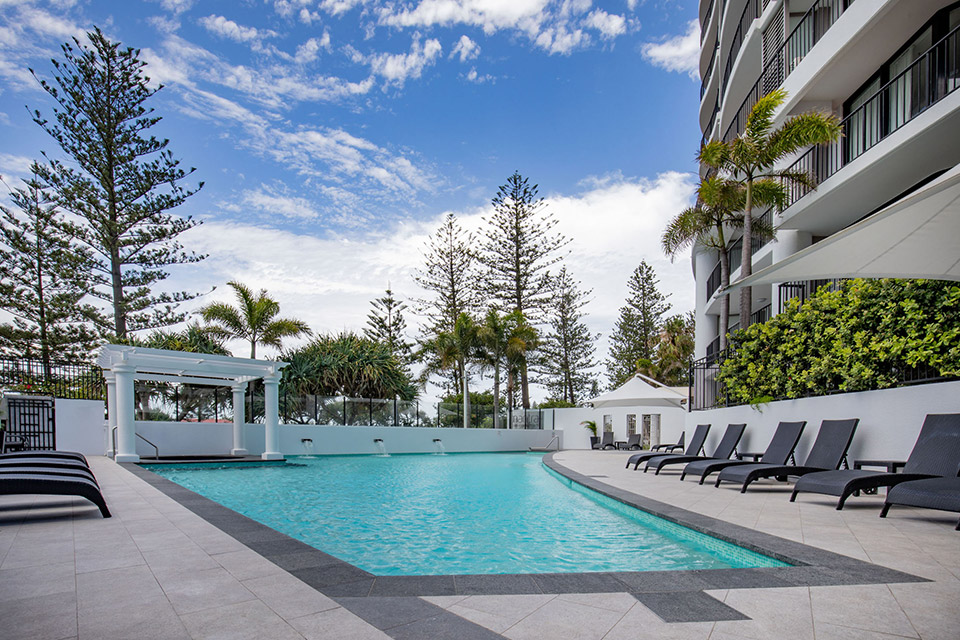 Mantra Coolangatta Beach facilities