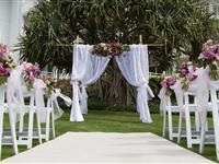 Wedding Setup - Mantra on Salt Beach