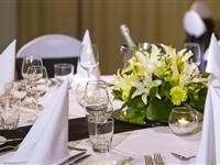 Conference Dinner Tables - Mantra Tullamarine Hotel