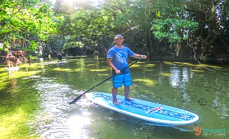 Stand Up Paddle Board on Mossman River