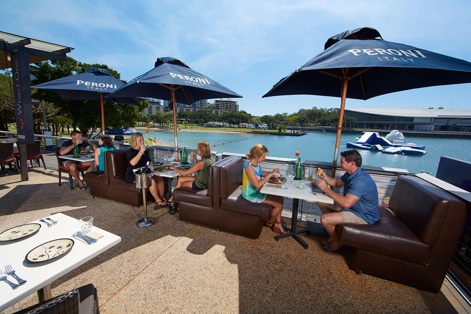 Dining out,  Darwin Waterfront