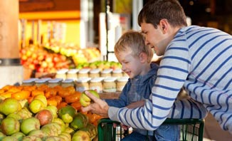 Teach your kids about fruit at a Tropical North Queensland farmer's market.