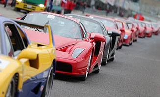 Get a taste for speed at the Ferrari Racing Days event