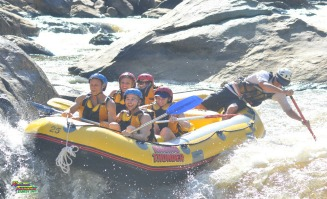 White Water Rafting on the Barron River