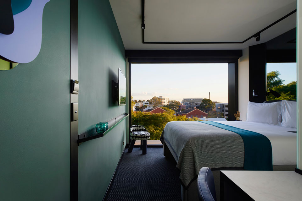 Tribe Perth City View Room